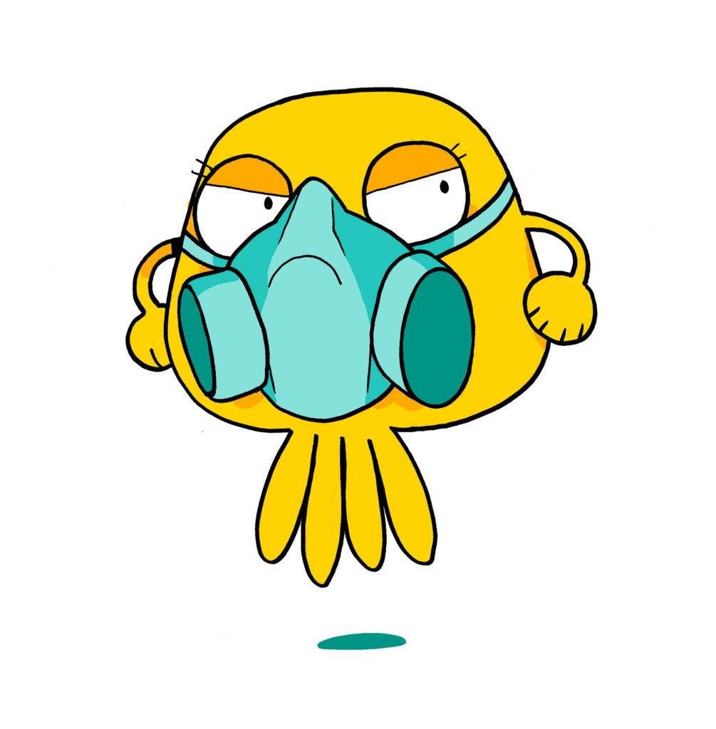 Côlon : un endroit peu respirable avec tous les gaz et déchets de ta digestion.