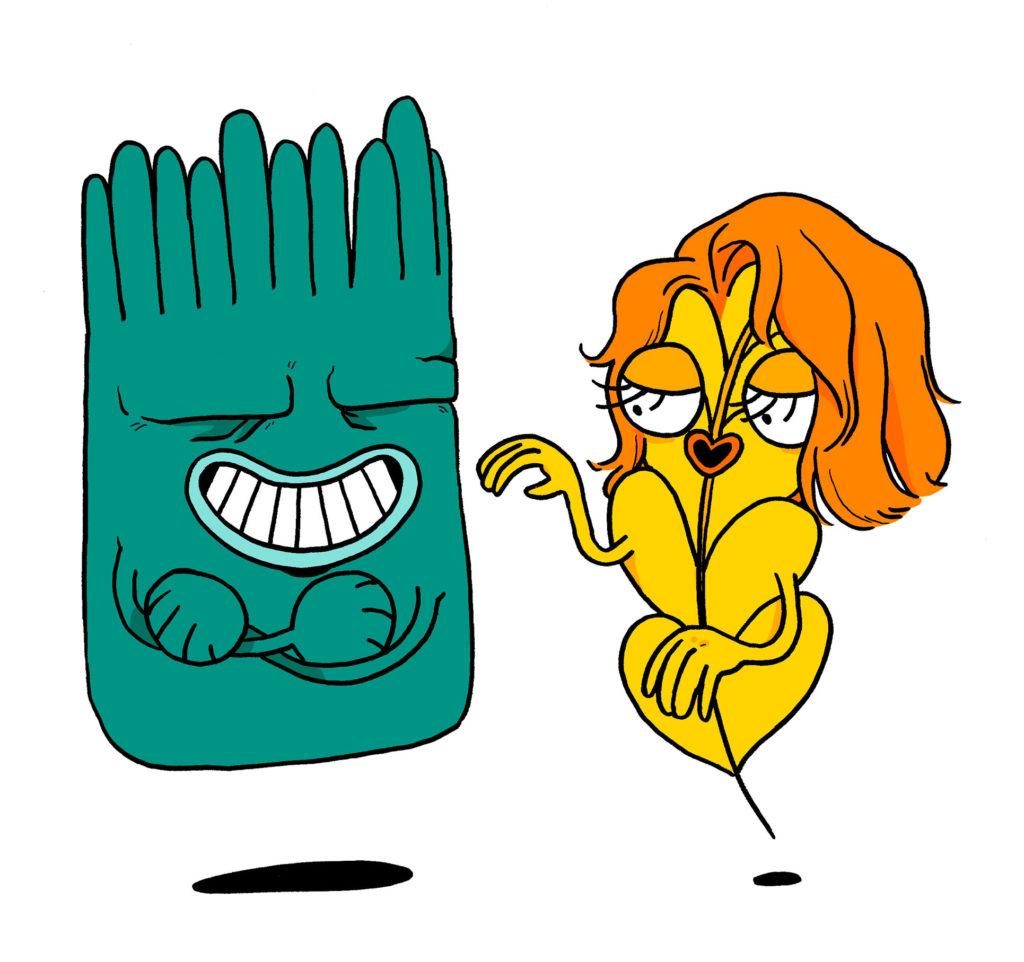 Le gardien de ta paroi intestinale est charmé par le gluten déguisé en cellule nutritive.