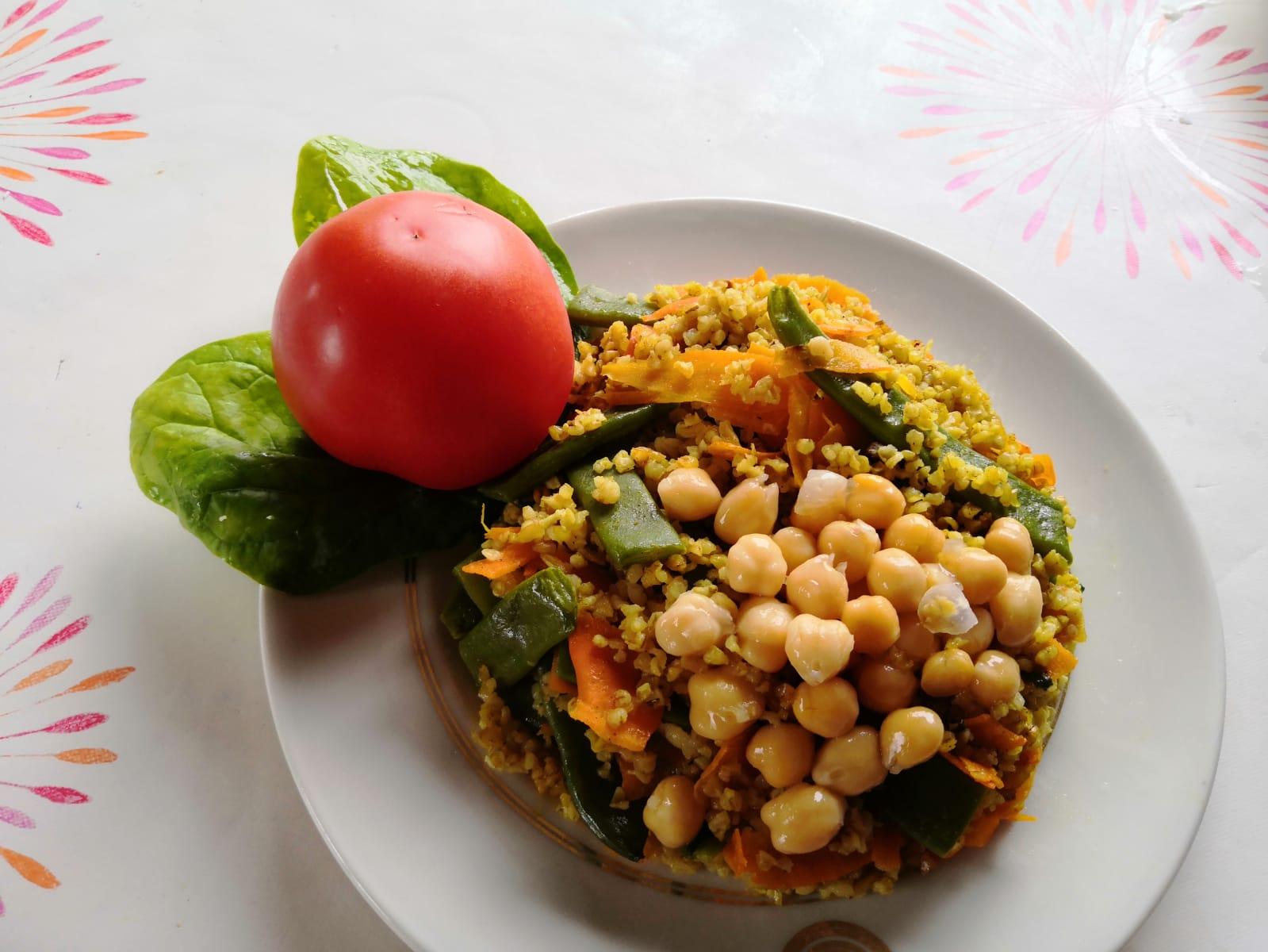 La recette du bulgur pilavi d'Emilie, mélange des cultures et des saveurs il fait fureur !