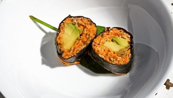 La recette des makis, version veggie super healthy !